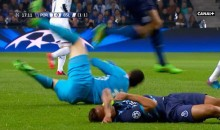 Porto's Danilo Knocked Unconscious By His Own Keeper (Video)