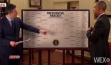 President Obama Fills Out His 2015 NCAA Tournament Bracket (Video)
