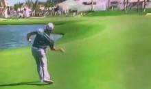 Watch Angry Rory McIlroy Throw His Club Into The Water (Video)