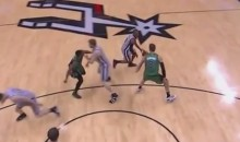 Marcus Smart Punched Matt Bonner in the Groin (Video)