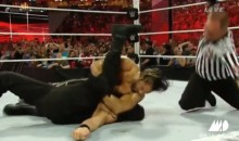 LISTEN: Seth Rollins Thanked Roman Reigns While Pinning Him at WrestleMania 31 (Video)