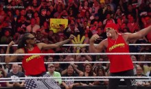 Snoop Dogg and Hulk Hogan Flex Their Muscles on Raw (Video)