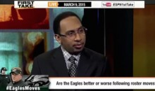 Stephen A Smith Questions Chip Kelly Moves, Suggests Racism? (Video)