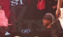 Steve Francis Gets His Gold Chain Ripped Off at a Houston Rap Show (Video)