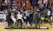 Seven Players Ejected Following Texas-Baylor Brawl in OT (Video)