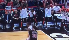 The Bulls Bench Did 'The Wave' As They Blew Out the Knicks (Video)