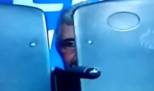 Tigres Manager (Lige MX) Gets Sent Off Field, Hides Behind Bench (Awesome Video)