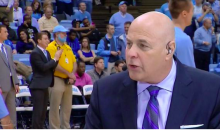 UNC Usher Dyes His Beard Tarheel Blue for Duke-UNC Rivalry Game (Pic)