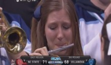 Villanova's Loss Makes Piccolo Player Cry (Video)