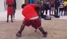 Viral Vine: Small Dude Trucks Big Dude to Ludacris Tune