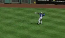 Yasiel Puig Reminds Us That His Arm Is a Cannon (GIF)