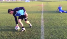 Austrian Soccer Team Shows Off Hilarious Penalty Kick Game (Video)