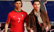 Report: Cristiano Ronaldo Sends His Personal Stylist to Groom His Wax Statue Once a Month