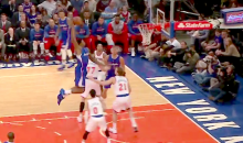 Five Monster DeAndre Jordan Dunks Leave Knicks Fans Feeling Entertained for Once (Video)
