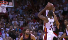 LeBron James Called this Dwyane Wade Game-Winner Right Before It Happened (Video)