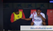 Sevilla's Fernando Navarro Relieves Himself on the Bench with the Help of a Teammate (Video)
