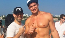Here's a Video of Shirtless Gronk Twerking on a Yacht in Miami