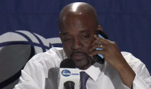 Hampton Coach Calls Jesus on the Phone, Asks for Help Beating Kentucky (Video)