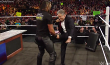 Jon Stewart Kicks Seth Rollins in the Nuts on Monday Night Raw (Video)