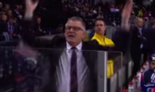 Marc Crawford Tirade During Swiss League Playoff Game Proves He's Still Got It (Video)