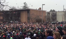Michigan State Bagel Riot: Students Celebrate Final Four Berth by Throwing Bagels? (Videos)