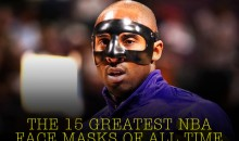 The 15 Greatest NBA Face Masks of All Time