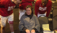 Wisconsin Players Are Really Fascinated by NCAA Tournament Stenographer (Video)