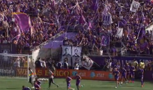 Overzealous Orlando City Fans Make Ill-Advised Leap from Stands to Celebrate Goal (Video)