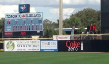 MLB's New Pace of Play Clock Makes Its Debut at Spring Training (Video + GIF)