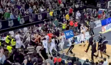 Spanish Basketball Brawl Spills Into Stands, Nearly Crushing a Few Children and Seniors (Video)