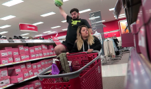 Target Cart Basketball Is Your New Favorite Kind of Basketball (Video)