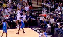 Tim Duncan Drained a Three-Pointer Because His Friend Bet Him He Couldn't Do It (Video)