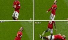 Wayne Rooney Knockout Celebration Inspired by Sensational Story in Sunday Sun