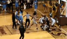 Hard Foul Leads to Insane Women's College Basketball Brawl and 15 Suspensions (Video)