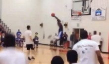 Bounce Pass Self-Alley-Oop Is The Craziest Thing You'll Watch This Week (Video)
