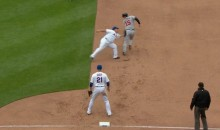 Bartolo Colon Shows Off Athleticism, Chases Down Base Runner (Video)