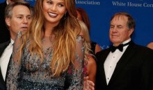 PHOTO: Bill Belickick, Russell Wilson Caught Checking out Chrissy Teigen at WHCD