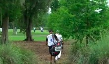 Ben Crane Uses Adjacent Fairway as a Shortcut off Tee (Video)