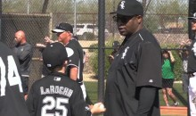 Bo Jackson Explains Who He Is To Adam LaRoche's Son (Video)