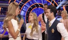 Erin Andrews Takes a Jab at Jarret Stoll on DWTS (Video)