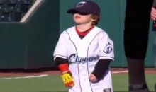 Fingerless Kid Throws First Pitch Using Iron Man Prosthetic (Video)