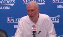 Gregg Popovich Gave a Very Gregg Popovich Press Conference (Video)