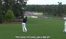 Here's Every Time Jordan Spieth Talked to His Ball at Augusta (Video)