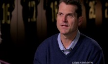 Jim Harbaugh Was a Little Aggressive in Courting His Wife (Video)