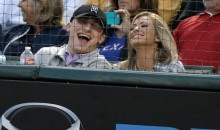 Johnny Manziel Front Row at Texas Rangers Game With Smokeshow (Pics)