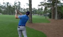 Jordan Spieth Hits Incredible Shot From Behind a Tree (Video)