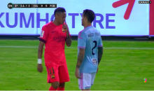 Neymar Tried To Blow His Nose on an Opposing Player (Video)