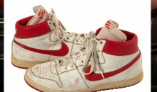 Pair of '84 Game-Worn Jordan Nikes Fetch $71,000