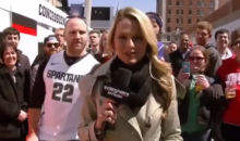 Pathetic Final Four Fan Proposes to Reporter Allie LaForce (Video)