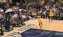 Paul George Dunks for First Time Since Return from Gruesome Leg Break (Video)